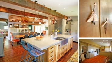 Before and After: A Warm, Whimsical Update for a Family of Five