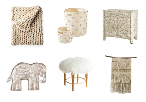 Brighten up your bedroom with a Palette of Winter Whites
