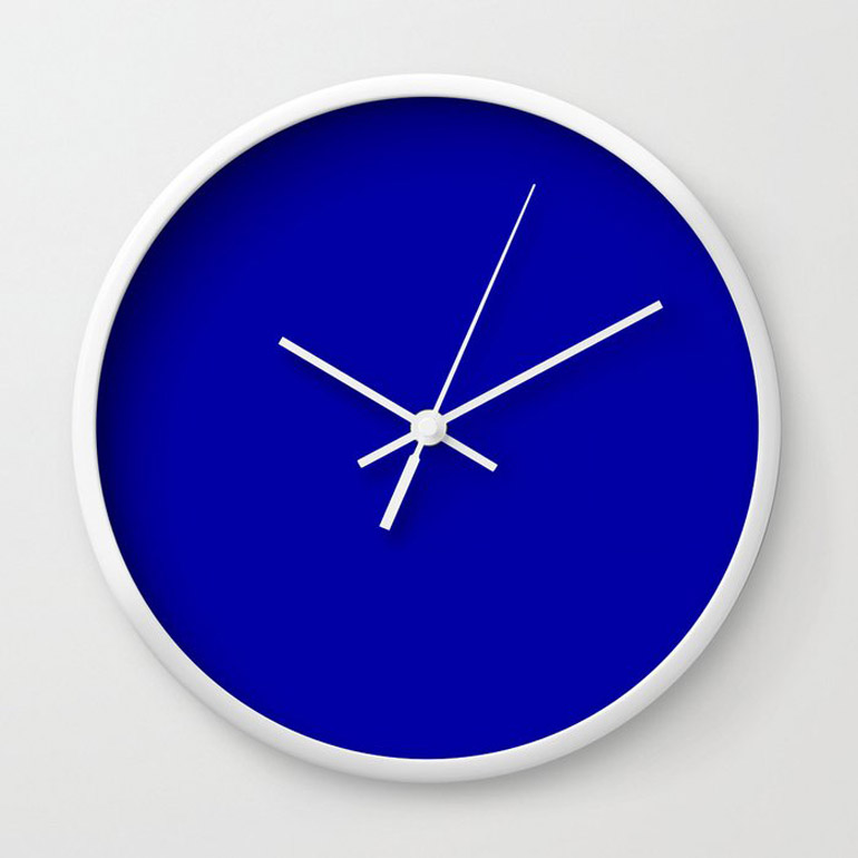 classic design duke blue wall clocks
