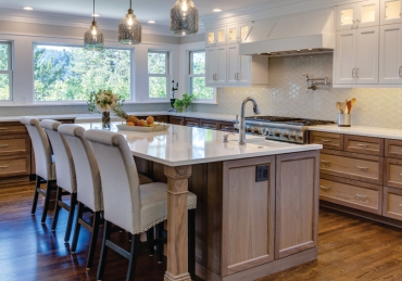 Kitchen Remodel Pairs Vintage Charm with Modern Living