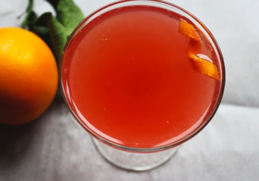 Beet Orange Cocktail