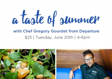 A Taste of Summer with Gregory Gourdet
