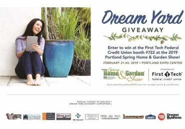 Portland Spring Home & Garden Show Dream Yard Giveaway