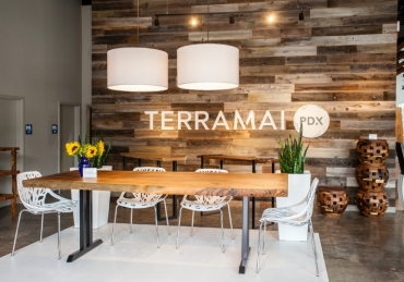 Why reclaimed wood on the wall is a trend with staying power
